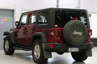 2011 Jeep Wrangler Unlimited JK MY09 Sport (4x4) Red 4 Speed Automatic Softtop