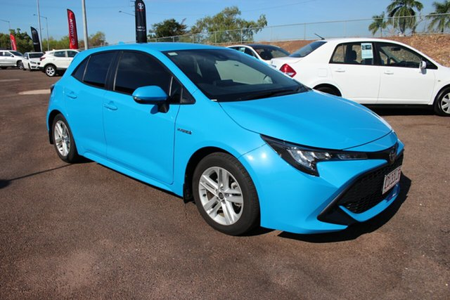 Used Toyota Corolla ZWE211R Ascent Sport E-CVT Hybrid, 2018 Toyota Corolla ZWE211R Ascent Sport E-CVT Hybrid Eclectic Blue 10 Speed Constant Variable