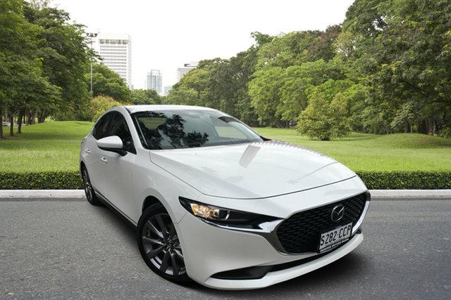 Used Mazda 3 BP2S7A G20 SKYACTIV-Drive Evolve, 2019 Mazda 3 BP2S7A G20 SKYACTIV-Drive Evolve White 6 Speed Sports Automatic Sedan