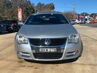 2008 Volkswagen EOS 147TSI Silver Sports Automatic Dual Clutch Convertible