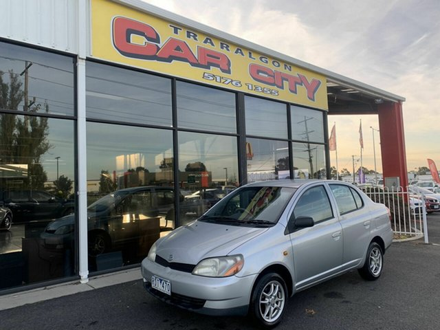 Used Toyota Echo NCP12R , 2001 Toyota Echo NCP12R Silver 5 Speed Manual Sedan