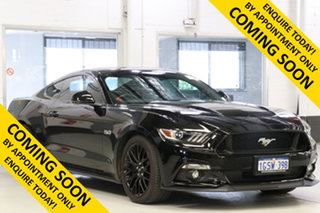 2016 Ford Mustang FM Fastback GT 5.0 V8 Black 6 Speed Automatic Coupe.