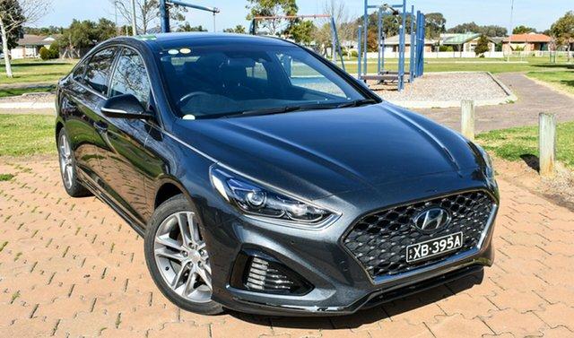 Used Hyundai Sonata LF4 MY18 Premium, 2017 Hyundai Sonata LF4 MY18 Premium Grey 8 Speed Sports Automatic Sedan