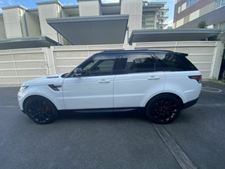 2013 Land Rover Range Rover Sport L494 MY14 V8SC HSE Dynamic White 8 Speed Sports Automatic Wagon
