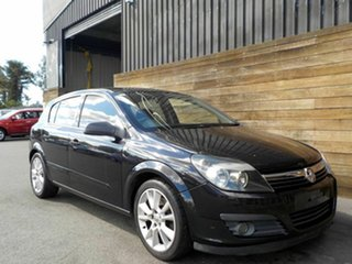 2006 Holden Astra AH MY07 CDTi Black 6 Speed Manual Hatchback.
