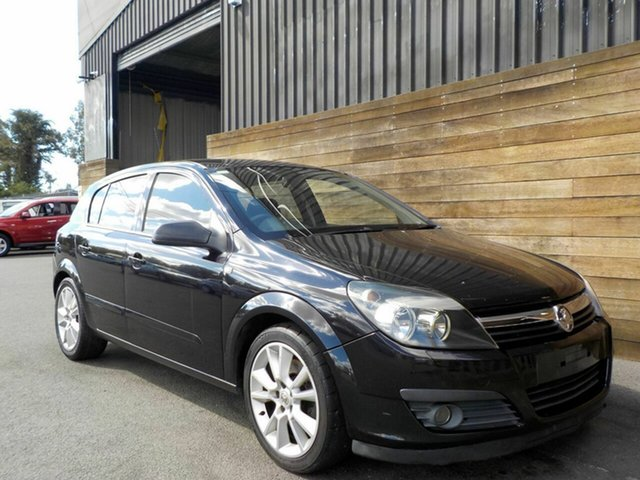 Used Holden Astra AH MY07 CDTi, 2006 Holden Astra AH MY07 CDTi Black 6 Speed Manual Hatchback