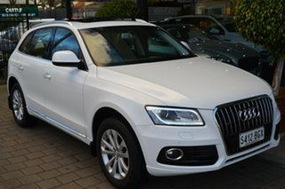 2015 Audi Q5 8R MY15 TDI S Tronic Quattro White 7 Speed Sports Automatic Dual Clutch Wagon.