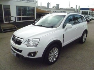 2014 Holden Captiva CG MY14 5 AWD LT White 6 Speed Sports Automatic Wagon