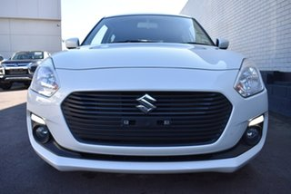 2019 Suzuki Swift AZ GL Navigator White 1 Speed Constant Variable Hatchback.