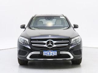 2017 Mercedes-Benz GLC250 253 MY17 Black 9 Speed Automatic Wagon.