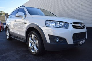 2012 Holden Captiva CG Series II MY12 7 AWD CX White 6 Speed Sports Automatic Wagon.
