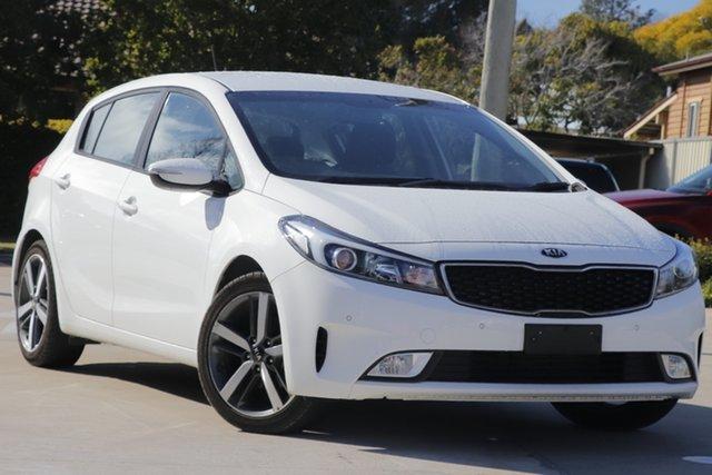 Used Kia Cerato YD MY17 Sport, 2017 Kia Cerato YD MY17 Sport White 6 Speed Sports Automatic Hatchback