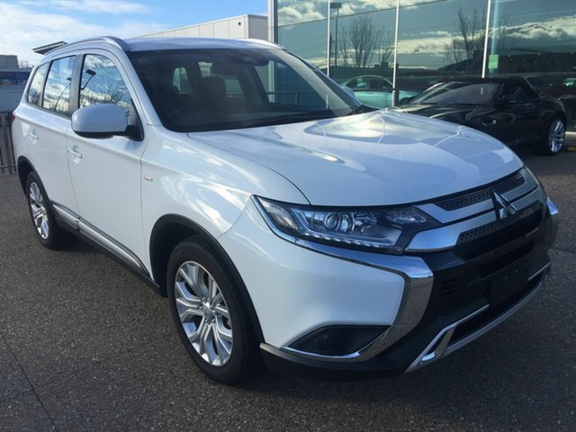 Used Mitsubishi Outlander ZL MY20 ES AWD, 2019 Mitsubishi Outlander ZL MY20 ES AWD White 6 Speed Constant Variable Wagon