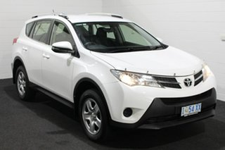 2013 Toyota RAV4 ALA49R GX AWD White 6 Speed Sports Automatic Wagon.
