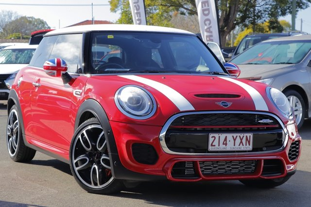 Used Mini Hatch F56 John Cooper Works, 2018 Mini Hatch F56 John Cooper Works Red 8 Speed Sports Automatic Hatchback