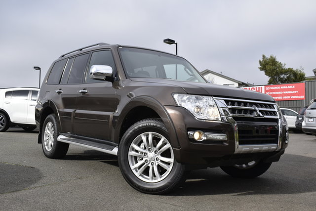 Used Mitsubishi Pajero NX MY18 GLX, 2018 Mitsubishi Pajero NX MY18 GLX Brown/blk 5 Speed Sports Automatic Wagon
