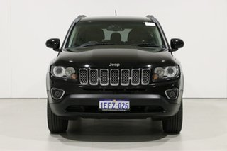 2013 Jeep Compass MK MY12 Limited (4x4) Black Continuous Variable Wagon.