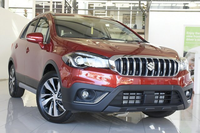 New Suzuki S-Cross Turbo Prestige (2WD) Wagga Wagga, 2020 Suzuki S-Cross Turbo Prestige (2WD) Energetic Red 6 Speed Automatic Wagon