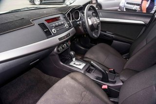 2010 Mitsubishi Lancer CJ MY11 ES Sportback White 6 Speed Constant Variable Hatchback