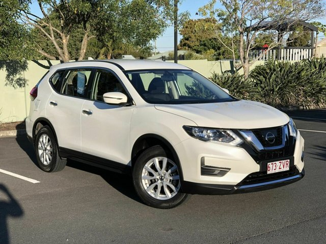 Used Nissan X-Trail T32 Series II ST X-tronic 4WD, 2018 Nissan X-Trail T32 Series II ST X-tronic 4WD White 7 Speed Constant Variable Wagon