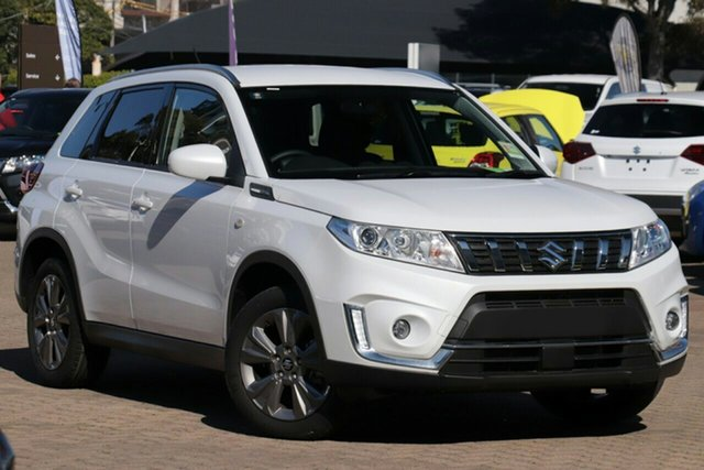 New Suzuki Vitara LY Series II 2WD, 2019 Suzuki Vitara LY Series II 2WD White 6 Speed Sports Automatic Wagon