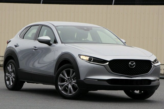 New Mazda CX-30 DM2WLA G25 SKYACTIV-Drive Touring, 2020 Mazda CX-30 DM2WLA G25 SKYACTIV-Drive Touring Sonic Silver 6 Speed Sports Automatic Wagon
