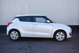 2019 Suzuki Swift AZ GL Navigator White 1 Speed Constant Variable Hatchback