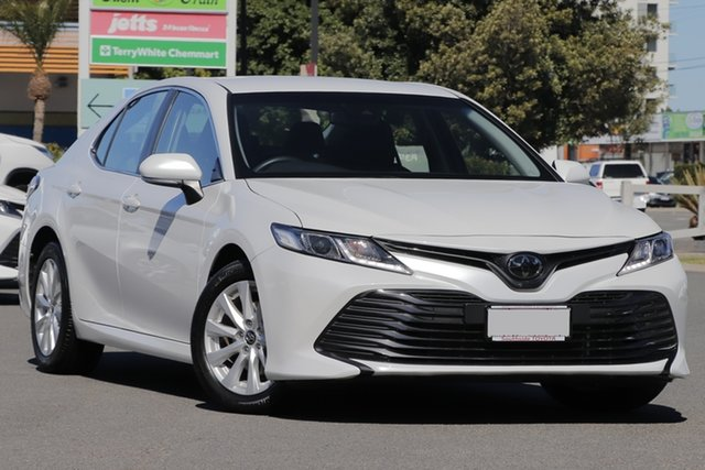 Used Toyota Camry ASV70R Ascent, 2019 Toyota Camry ASV70R Ascent Frosted White 6 Speed Sports Automatic Sedan