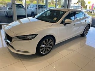 2020 Mazda 6 GL1033 GT SKYACTIV-Drive White 6 Speed Sports Automatic Sedan.