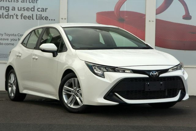 Pre-Owned Toyota Corolla Mzea12R Ascent Sport Ferntree Gully, 2018 Toyota Corolla Mzea12R Ascent Sport Glacier White 10 Speed Constant Variable Hatchback