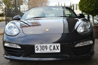 2011 Porsche Boxster 987 MY11 PDK Black 7 Speed Sports Automatic Dual Clutch Convertible.