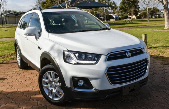 Used Holden Captiva CG MY17 Active 2WD, 2017 Holden Captiva CG MY17 Active 2WD White 6 Speed Sports Automatic Wagon