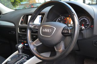 2015 Audi Q5 8R MY15 TDI S Tronic Quattro White 7 Speed Sports Automatic Dual Clutch Wagon