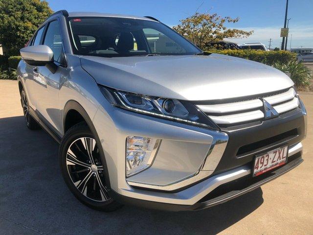Used Mitsubishi Eclipse Cross YA MY20 ES 2WD, 2020 Mitsubishi Eclipse Cross YA MY20 ES 2WD Silver 8 Speed Constant Variable Wagon