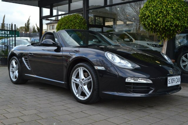 Used Porsche Boxster 987 MY11 PDK, 2011 Porsche Boxster 987 MY11 PDK Black 7 Speed Sports Automatic Dual Clutch Convertible