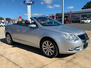2008 Volkswagen EOS 147TSI Silver Sports Automatic Dual Clutch Convertible.