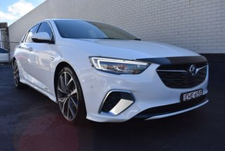 2018 Holden Commodore ZB MY18 VXR Liftback AWD White 9 Speed Sports Automatic Liftback.