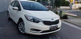 2016 Kia Cerato YD MY15 S Premium White 6 Speed Automatic Sedan.