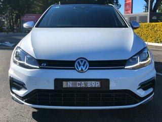 2019 Volkswagen Golf 7.5 MY20 R DSG 4MOTION White 7 Speed Sports Automatic Dual Clutch Hatchback.