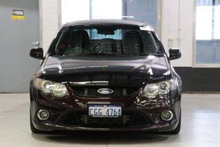 2009 Ford Falcon FG XR6T Maroon 6 Speed Auto Seq Sportshift Sedan.