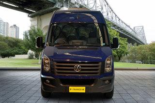 2015 Volkswagen Crafter 2EH1 MY15 35 High Roof LWB TDI340 Blue 6 Speed Manual Van.