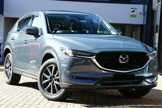 2020 Mazda CX-5 KF4WLA GT SKYACTIV-Drive i-ACTIV AWD Polymetal Grey 6 Speed Sports Automatic Wagon.
