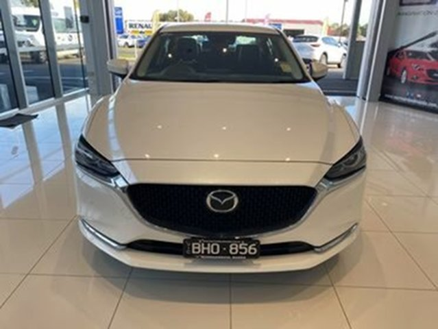 Demo Mazda 6 GL1033 GT SKYACTIV-Drive Warrnambool East, 2020 Mazda 6 GL1033 GT SKYACTIV-Drive White 6 Speed Sports Automatic Sedan