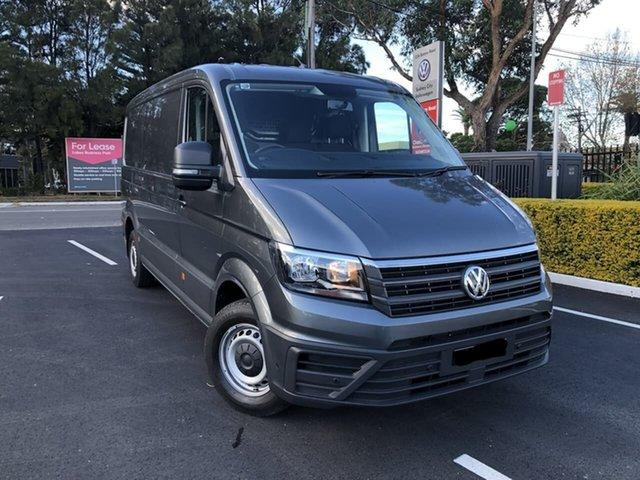 Demo Volkswagen Crafter SY1 MY20 35 MWB FWD TDI410, 2020 Volkswagen Crafter SY1 MY20 35 MWB FWD TDI410 Grey 8 Speed Automatic Van