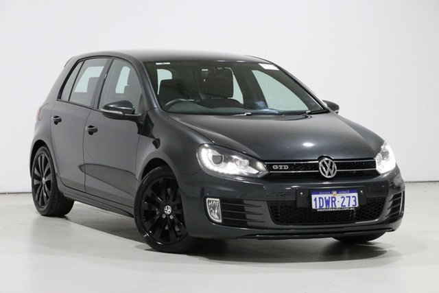 Used Volkswagen Golf 1K MY12 GTD, 2012 Volkswagen Golf 1K MY12 GTD Grey 6 Speed Manual Hatchback
