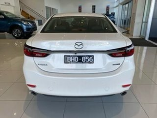 2020 Mazda 6 GL1033 GT SKYACTIV-Drive White 6 Speed Sports Automatic Sedan