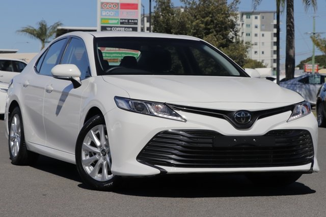 Used Toyota Camry ASV70R Ascent, 2019 Toyota Camry ASV70R Ascent Glacier White 6 Speed Sports Automatic Sedan