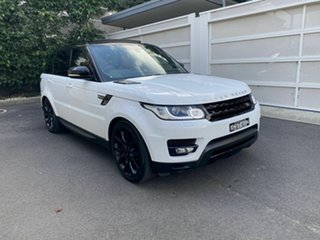 2013 Land Rover Range Rover Sport L494 MY14 V8SC HSE Dynamic White 8 Speed Sports Automatic Wagon.