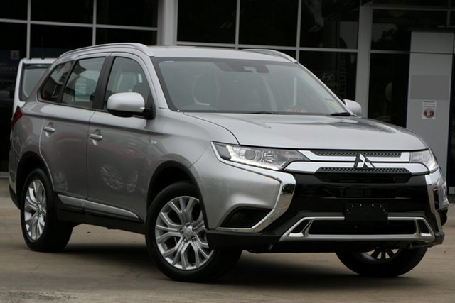 New Mitsubishi Outlander ZL MY20 ES 2WD, 2019 Mitsubishi Outlander ZL MY20 ES 2WD Sterling Silver 6 Speed Constant Variable Wagon