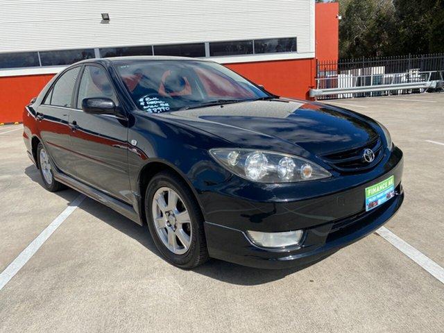 Used Toyota Camry ACV36R Sportivo Morayfield, 2004 Toyota Camry ACV36R Sportivo Black 4 Speed Automatic Sedan